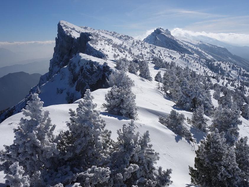neige montagne moucherotte vercors