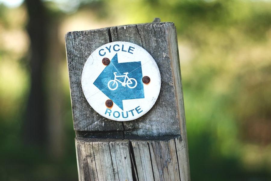 balise route vélo