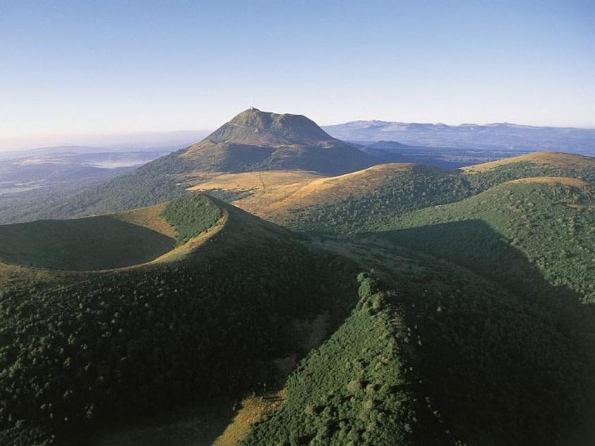 Chaîne des puys en Auvergne