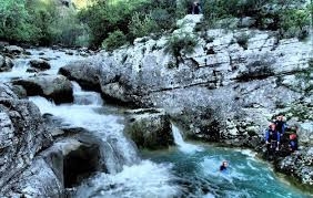 Canyoning cevennes
