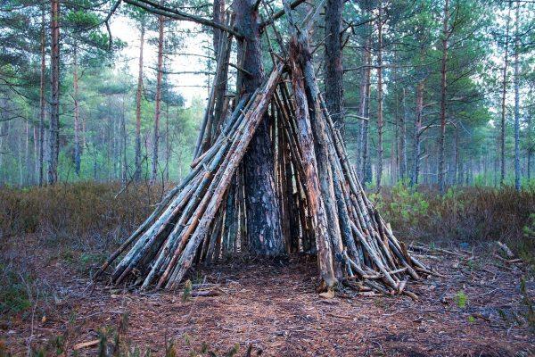 Teepee la plus connue des cabanes