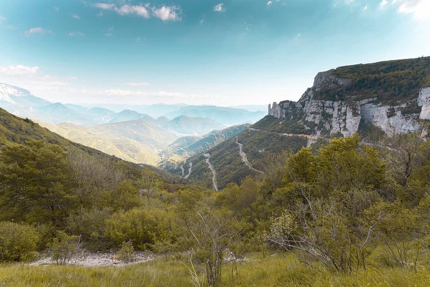 vue vercors montagne
