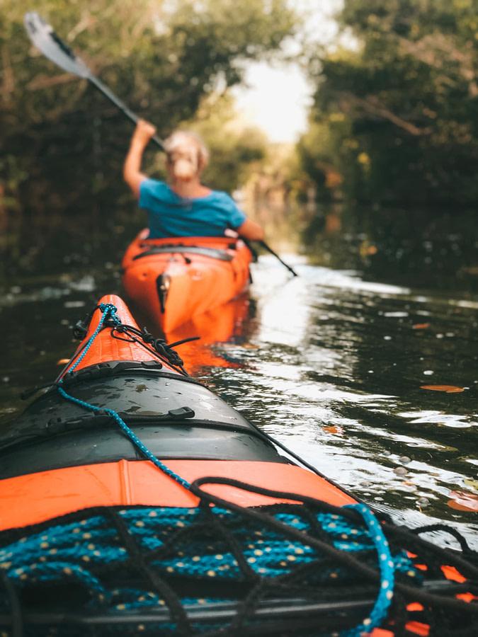 kayak rivière