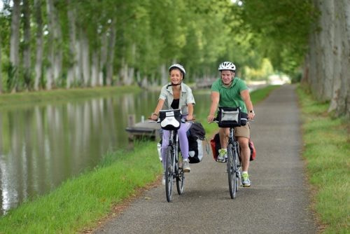 balade à vélo chemins de halage